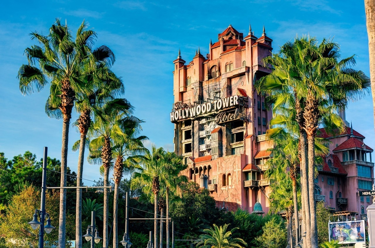 Blue SKies & the Hollywood Tower Hotel
