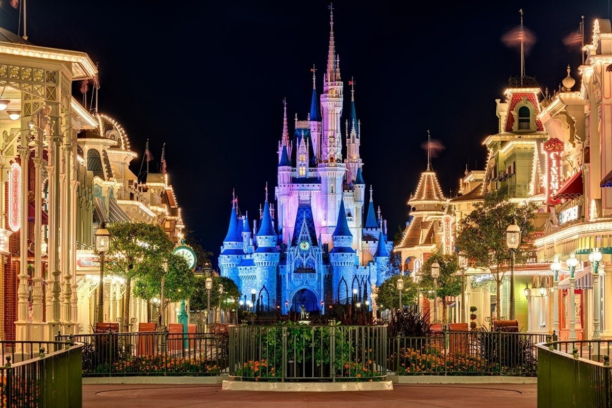 Cinderella Castle & The Main Street