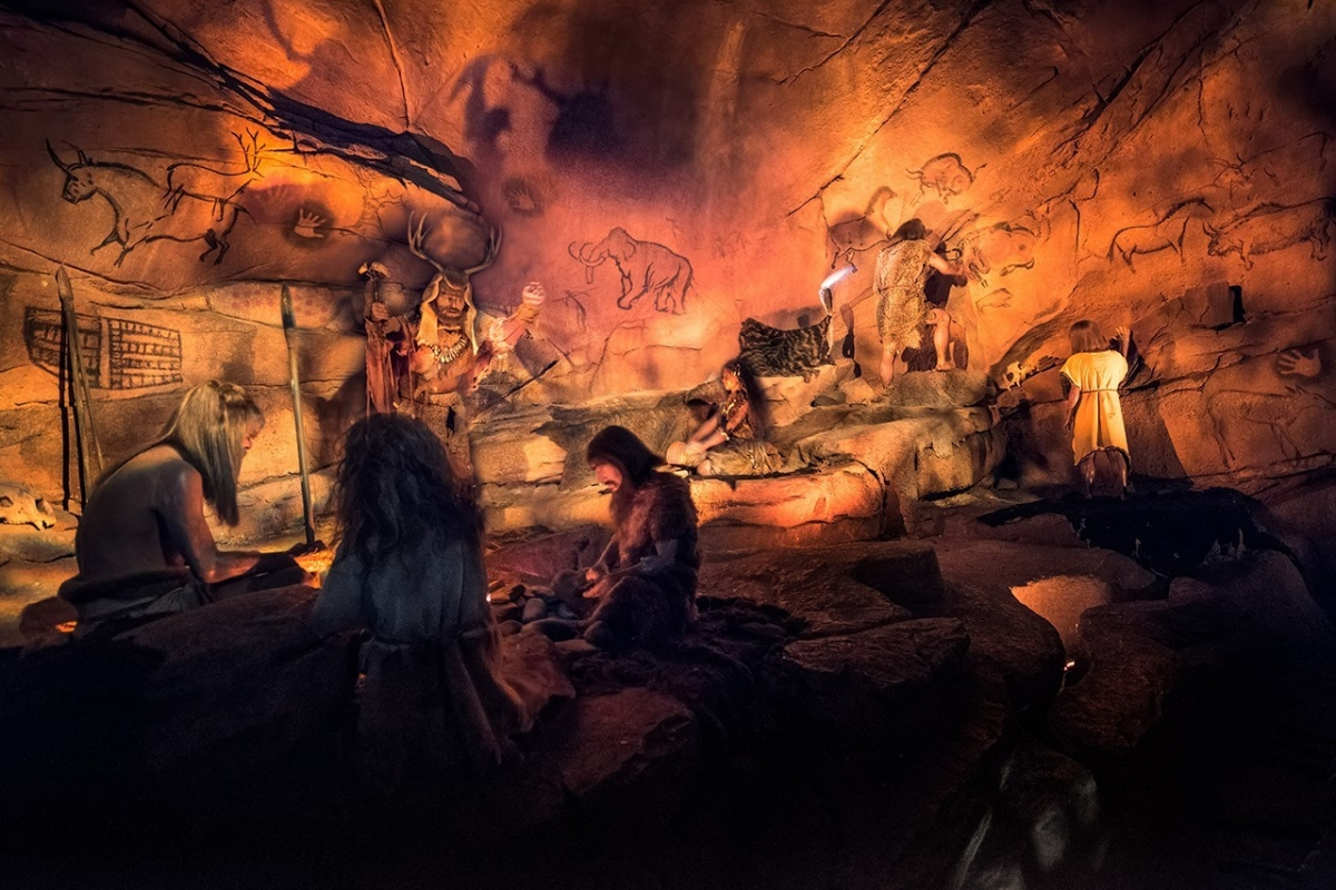 Spaceship Earth's Cavemen
