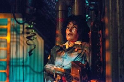 Ripley Aboard the Nostromo