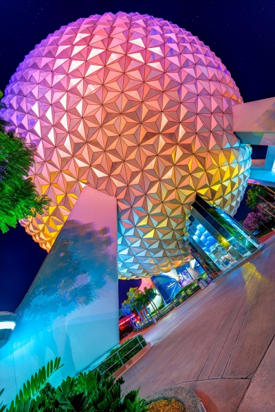 Spaceship Earth Off the Axis