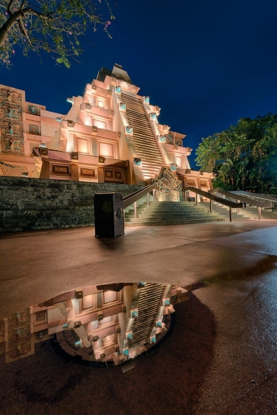 Reflections of the Mexico Pavilion