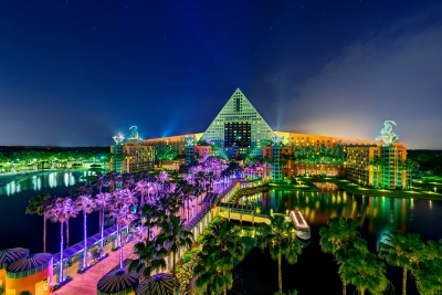 Walt Disney World Dolphin Night
