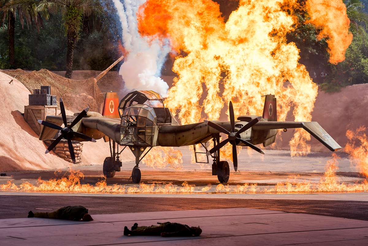 Indiana Jones Epic Stunt Spectacular Finale Explosion
