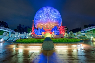 A Spaceship Earth Full of Food & Wine