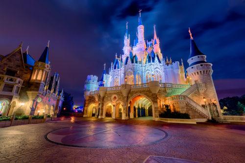 Cinderella Castle's Backside