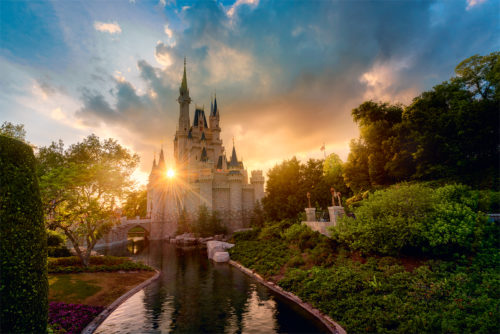 A Magical Kingdom Sunset
