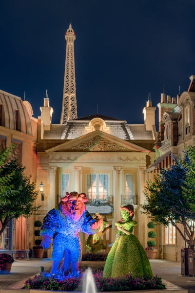 Beauty and the Beast and Paris