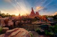 Frontierland's Setting Sun