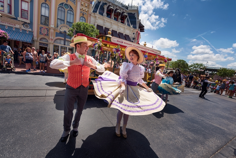 Main Street USA Trolley Show