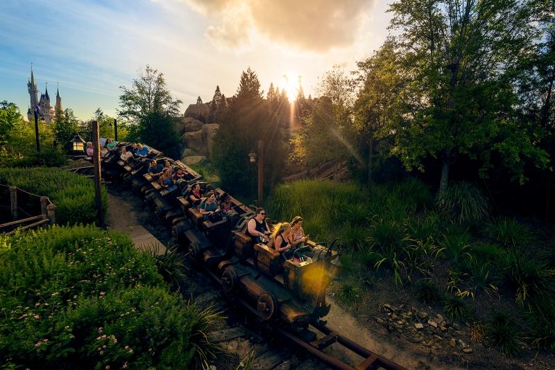 Seven Dwarfs Mine Train Kingdom Run