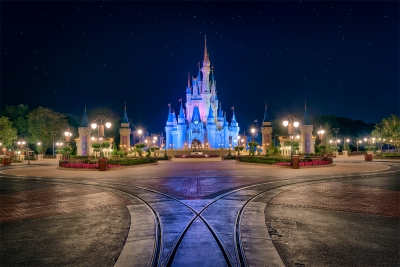 The Hub of the Magic Kingdom