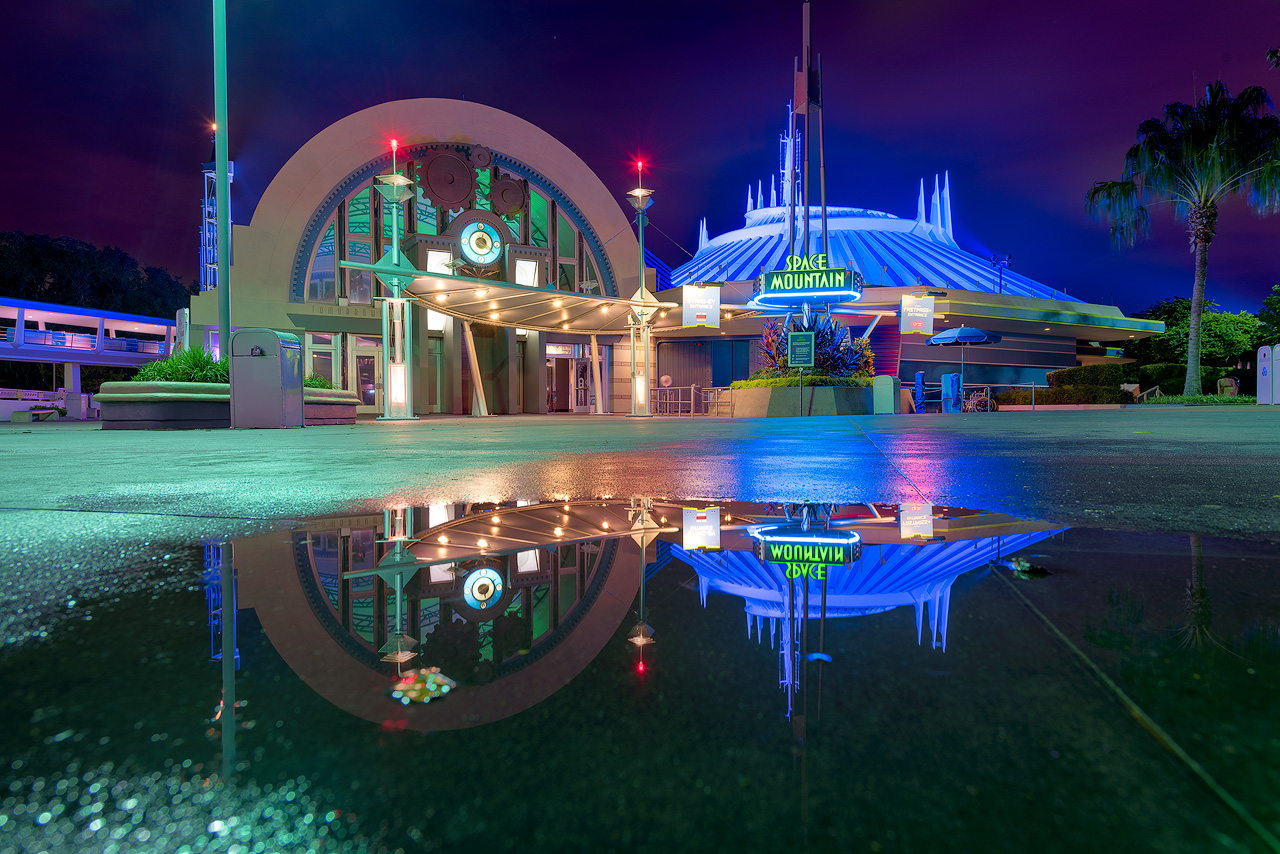 Reflections of Space Mountain