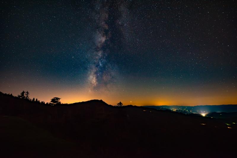 Waterrock Knob Milky Way