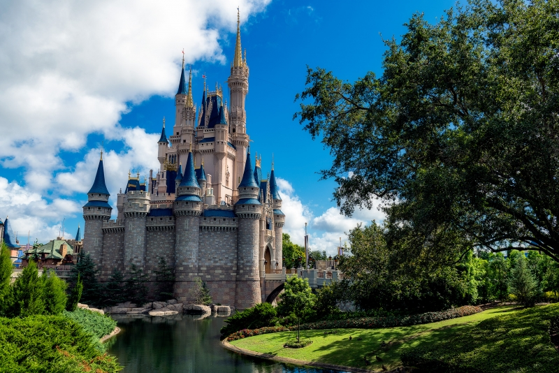 A Beautiful Day at Cinderella Castle
