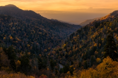 Autumn in the Great Smoky Mountain National Park