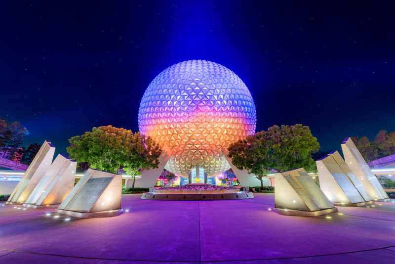 Spaceship Earth & the Case of the Missing Fountain Water