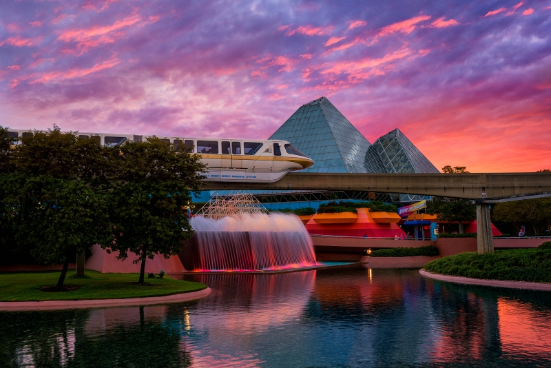 The Sky's on Fire but I'm hunting Monorails