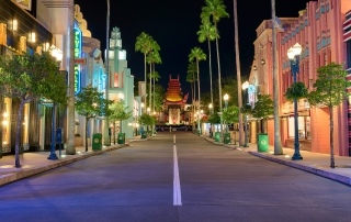 Quiet Night in Hollywood Studios
