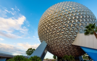 Blue Sky Spaceship Earth